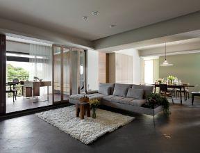 中式现代客厅背景墙
