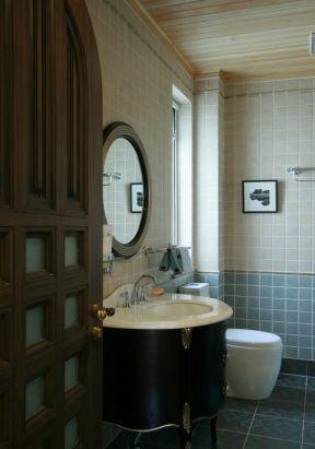 卫生间洗手池图片 卫生间洗手台面设计 卫生间洗手盆装修效果图