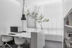 北京極簡風格辦公室吊燈裝修設計圖2019
