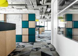 北京300平現代辦公室地面裝修設計效果圖