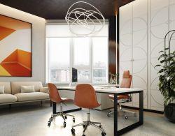 北京小型公司經理辦公室裝修設計圖片