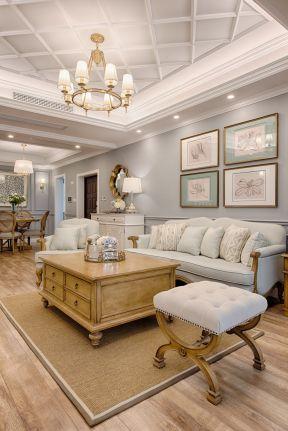 美式風格客廳效果圖 美式風格客廳圖片