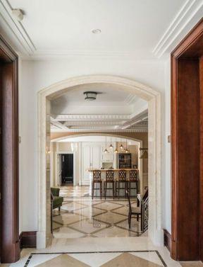 别墅吧台装修设计图 美式别墅室内装修效果图