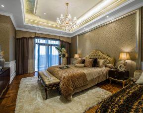 别墅卧室效果图  新古典风格卧室装修效果图