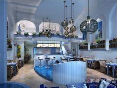 南京装饰设计案例:富力尚悦居98平三居室地中海风格案例赏析