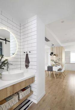 南京簡約風格新房室內實木地板裝修設計圖