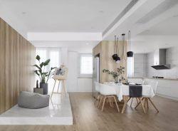 南京120平新房室內餐廳裝修設計實景圖