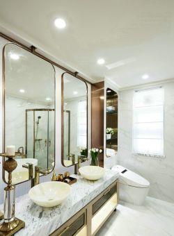 南京新房衛生間洗手臺裝修設計效果圖