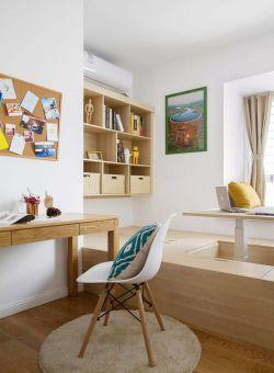 南京新房裝修室內書房榻榻米設計圖片賞析
