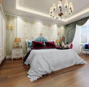 四居145平欧式风格卧室设计图-每日推荐