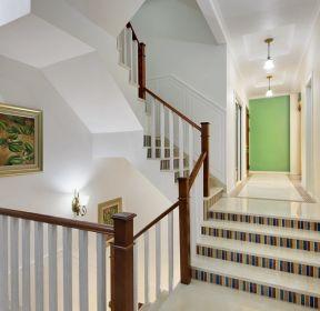 上海别墅楼梯设计装修-装信通网效果图大全