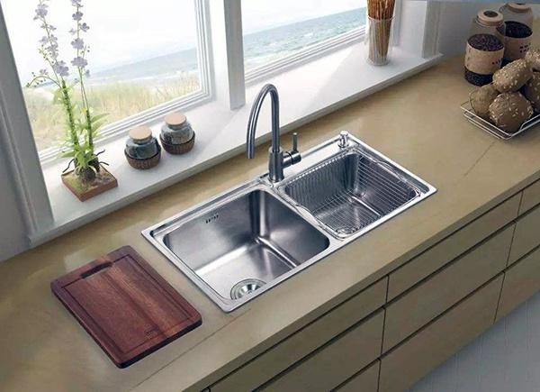 【广汉汉洲豪庭装饰】如何选择厨房水槽 怎么判断水槽好坏