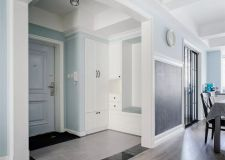 达州玉涵装饰分享小清新的123平现代美式风三居室,轻松又舒适的家!