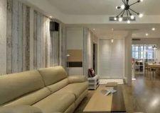 135平三居室现代混搭风格设计案例