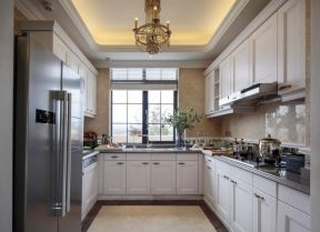 欧式风格厨房效果图 欧式风格厨房装修图片