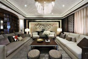 客厅水晶灯图片 客厅水晶灯装修效果图 客厅水晶灯