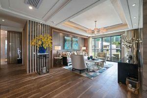 新世界倚山花园别墅346平新中式风格装修案例