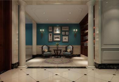 昆明ballbet贝博网站设计别墅案例 华夏曦岸美式风格别墅设计分享
