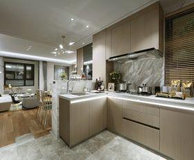 广州现代风格厨房室内装修设计图一览
