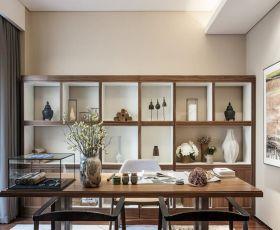 广州房屋装修室内书房设计实景图赏析