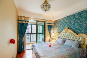 欧式风格卧室装饰 欧式风格卧室装修 欧式风格卧室墙纸图片