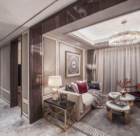 广州房屋样板房室内客厅装修效果图-每日推荐