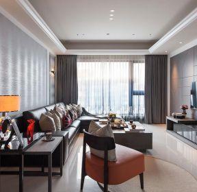 广州现代风格客厅室内装修效果图大全 -每日推荐
