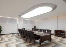 上海办公室会议室吊顶装修设计图片