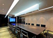上海专业写字楼会议室吊顶装修设计图片