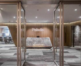 2019上海写字楼公司前台装修设计实景图
