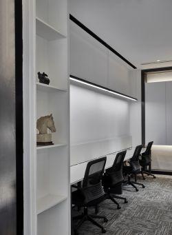 上海小型公司簡約辦公室設計圖片