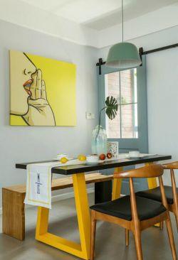 廈門歐式風格新房餐廳吊燈設計圖欣賞