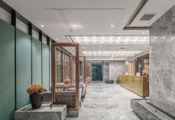 2019廣州辦公室前臺接待區裝修設計圖片