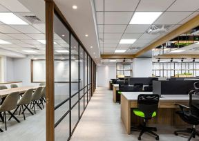 办公室吊顶装饰效果图 办公室吊顶bob最新客户端效果图 办公室隔断墙效果图