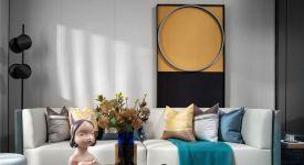 西安家居裝飾現代設計案例 西安90平米裝修案例