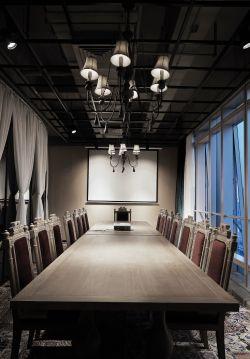 廣州服裝公司會議室混搭風格裝修圖片