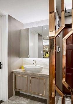廈門新房裝修室內洗手臺設計效果圖