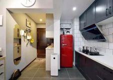 后悔把冰箱放厨房了,卫生难搞还占地方,现在流行放这里