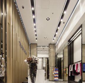 廣州商鋪裝修品牌服裝店吊頂設計圖-每日推薦
