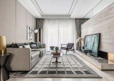 西安鲁班装饰:125平现代奢华设计 西安三居室装修案例