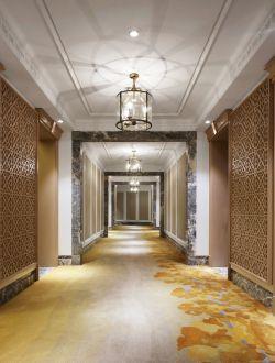 南寧酒店走廊吊頂裝修設計實景圖片