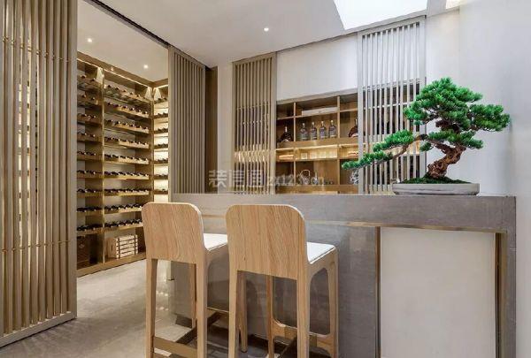 300平米新中式别墅装修案例将茶文化引入室内嘉园荆州空间别墅丽景图片