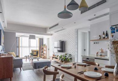 达州ballbet贝博网站设计分享北欧风三居室,喜欢这种蓝白配的基调!