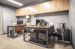 南寧小型公司辦公室裝修設計圖2019