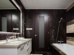 南寧120平新房衛生間室內洗手臺裝修圖片
