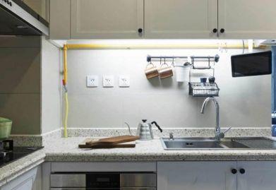 150平户型,用灰色和棕色搭配出的现代简约ballbet贝博网站