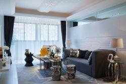 青島現代簡約小戶型客廳裝修設計賞析