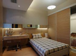 青島家庭小戶型臥室裝修設計圖片