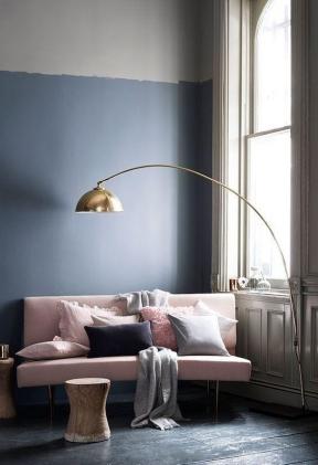 客廳落地燈效果圖 歐式客廳裝修設計 歐式客廳裝潢