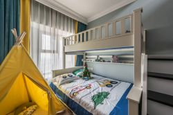 武漢128平房屋男孩房裝修設計效果圖片